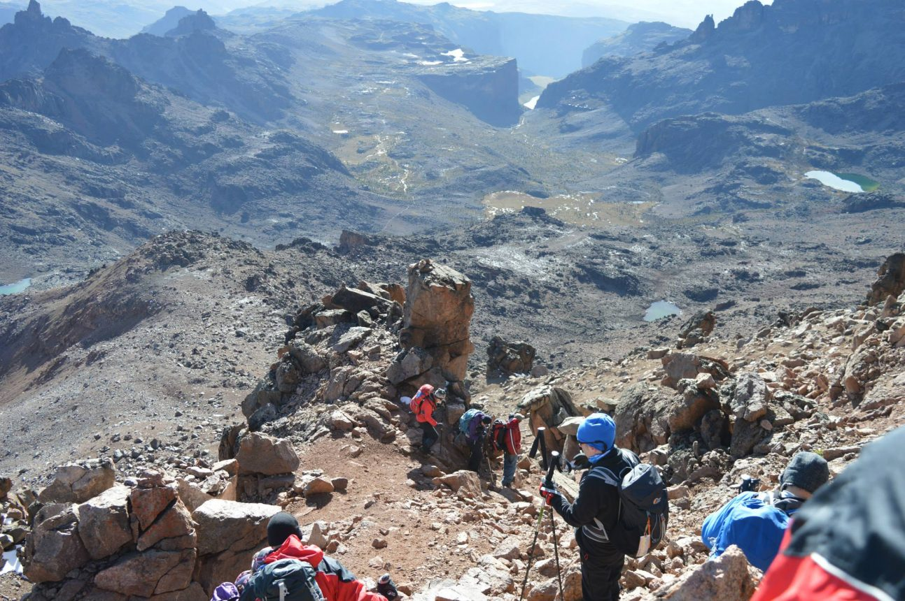 descending-from-point-lenana-on-mount-kenya